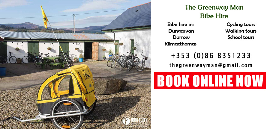 Waterford Greenway bike hire
